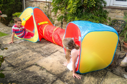 Pop Up Adventure Play Tent